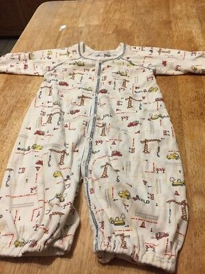 Kissy Kissy Boy Construction Themed One Piece 0-3 Months