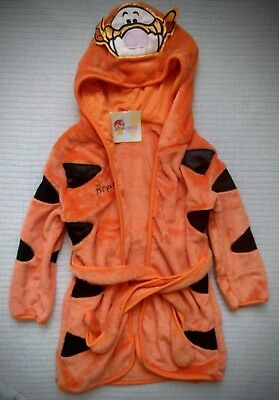 Toddler Tiger robe size 5T (120cm height) NEW