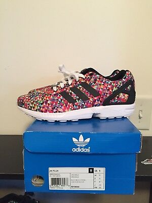 "newest d40d7 09c13 ADIDAS ZX FLUX ""Multicolor Prisim"" OG - Size 9"