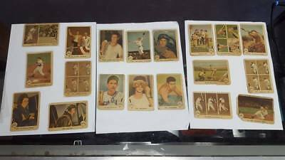 1959 FLEER BASEBALL cards TED WILLIAMS LOT <19 CARDS vintage baseball cards rare