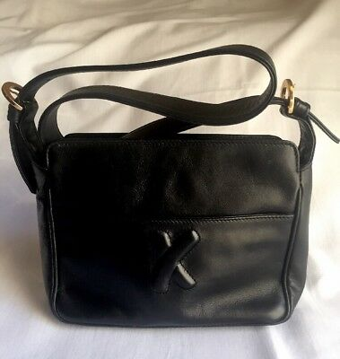 Paloma Picasso Black Shoulder Bag