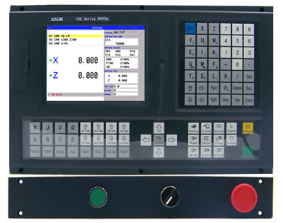 CNC990TDc-2 Updated 2 Axis fanuc CNC Lathe&Turning Controller with USB