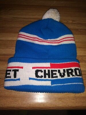 Vintage Chevrolet Stocking Hat Nos