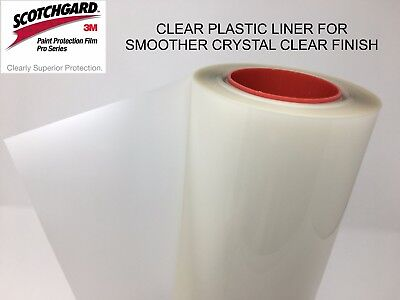 "Paint Protection Film Clear Bra 3M Scotchgard Pro Series 24"" x 36"" Sheet"