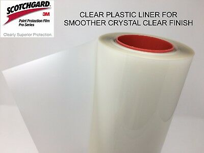 "Paint Protection Film Clear Bra 3M Scotchgard Pro Series 24"" x 48"" Sheet"