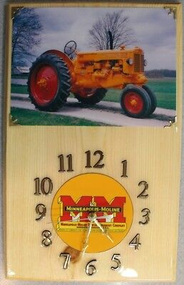MINNEAPOLIS MOLINE Model Z, wood clock