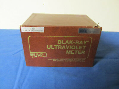 Blak Ray Long Wave Ultraviolet Meter - Model No. J-221
