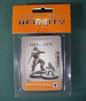 Corvus Belli Infinity the game Aleph Hector, Homerid Champion 280848-0571 NEW