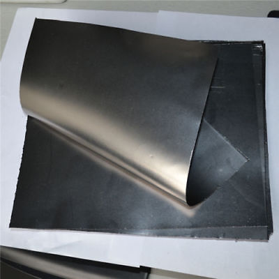 99.5% Pure Graphite Flexible Foil Sheet Graphoil Gasket 0.3mm x 300mm x 300mm