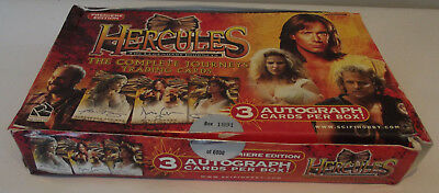 Hercules The Legendary Jounreys Trading Cards Open Box Limited to 6000