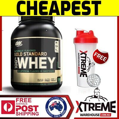 Optimum Nutrition 100% Natural Whey Choc 5Lb // Gold Standard Protein Wpi Wpc #