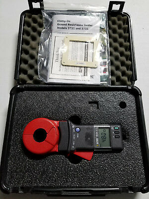 AEMC 3711 - Clamp-on Ground Resistance Tester