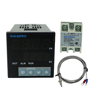 Inkbird F and C Display PID Stable Temperature Controller ITC106VH with K Sen...