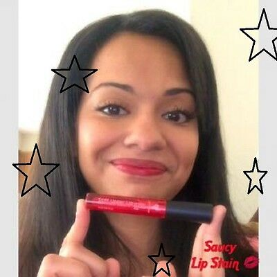 Oooh My!! Younique SAUCY Moodstruck Minerals Stiff Upper Lip Lip Stain NIB