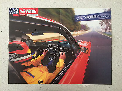 Ford Falcon Xy Gt poster down conrod mt panorama
