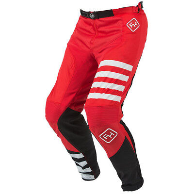 Fasthouse NEW Mx 2018 Speed Style Stripe Red Adult Motocross Dirt Bike Pants