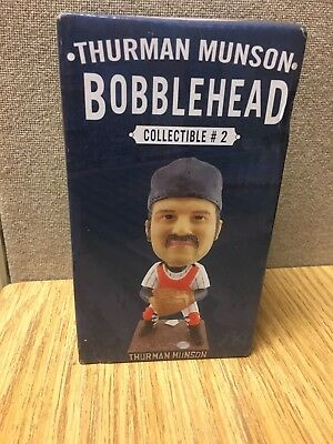New York Yankees 2015 Limited-Edition Thurman Munson Bobblehead SGA Hall Fame