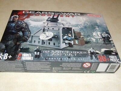 Meccano Gears of War Judgment - Island Bunker Assault Construction Set - New
