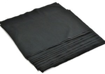 "5Pcs 14""x24"" Extra Large Black Microfiber Len Cleaning Cloth TV LCD Eye Glasses"