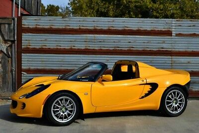2005 Lotus Elise Base Convertible 2-Door 1-Owner Elise~24k miles~All Service Records~Window Sticker