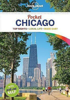 Lonely Planet Pocket Chicago *FREE SHIPPING - NEW*