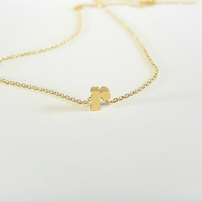Personalised Initial Necklace - Letter r