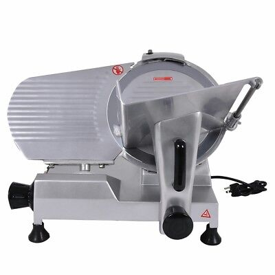 """New 12"""" Blade Commercial Meat Slicer Deli Meat Cheese Food Slicer Industrial"""