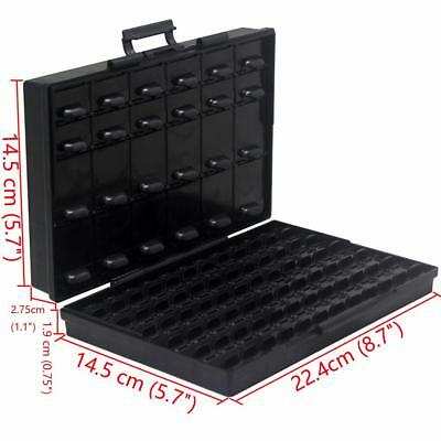 Aidetek 96 lids storage bead anti-static ESD Safe Enclosure IC Organizer Tweezer