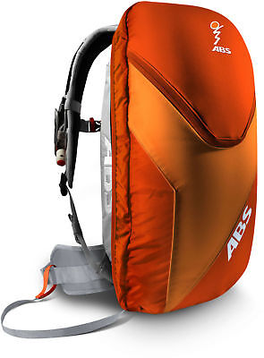 ABS Vario Base Unit Avalanche Air Bag With 8L Zip-On Backpack (Grey, L) Mens