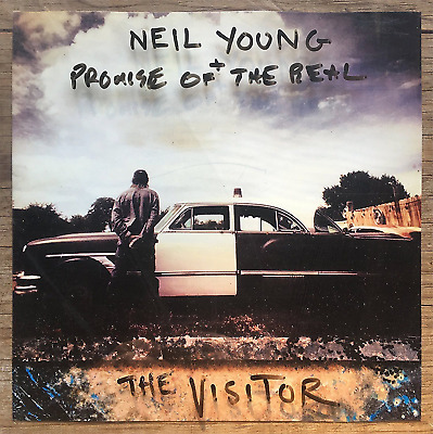 NEIL YOUNG + PROMISE OF THE REAL  THE VISITOR CD (Digi Sleeve 2017)