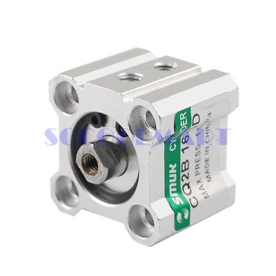 New SMC CQ2B16-5D Pneumatic Compact Industrial Air Cylinder Double Acting Single