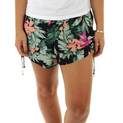 NEW Rusty - Delta Women's Shorts/Dark Sapphire/Floral