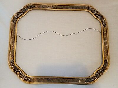Large Gorgeous Vintage Ornate Antique Victorian Picture Frame