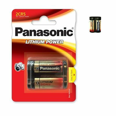 Battery special photo 2CR5 6V lithium Panasonic