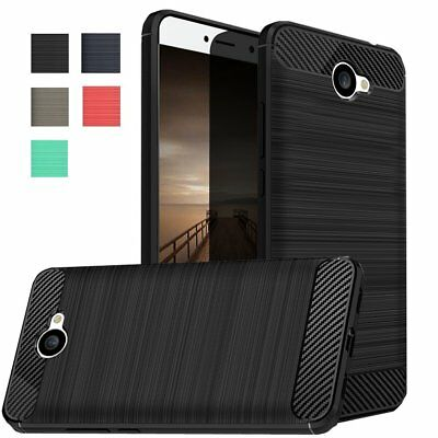 USA Brushed Rugged Rubber Hybrid TPU Cover Case For Huawei Ascend XT2 / Elate 4