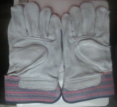 Double Palm Split Leather Work Glove Available X-Large Size