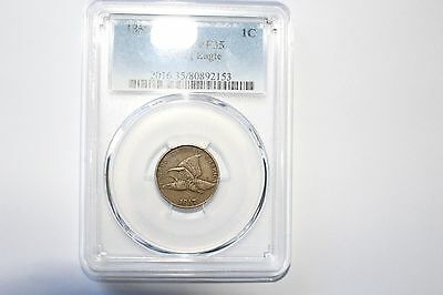 1857 Flying Eagle Cent PCGS VF 35