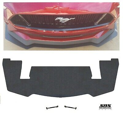 PP2 style FRONT SPLITTER+2 RODS for 2018 MUSTANG GTs w/ Performance Pack