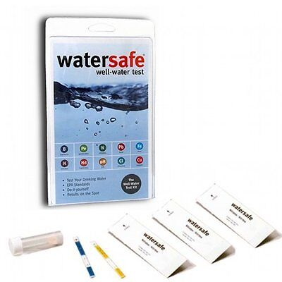 Watersafe Well Water Drinking Test Kit | All-in-One Test Kit