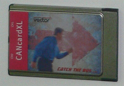 Vector CANcard XL PCMCIA Two Channel with 2 Vector opto 251 cables