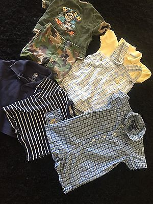 Lot Of Boy Baby Summer Clothes Ralph Lauren Jeanie And Jack 12 To 18 Months 8 Pc