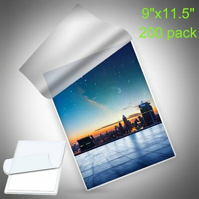 """200 3 Mil Thermal Laminating Pouches 9""""x11.5"""" Letter Size Laminator ImageLast"""