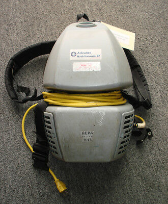 Backpack Vacuum Cleaner By Nilfisk Advance, Hepa Filter, For Parts Or Repair