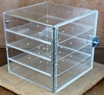 Ray Micron-Aire Benchtop Laboratory Desiccator Cabinet * 3 Shelves* Dry Box
