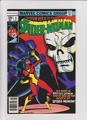 Spider Woman  3    VF/NM   cents issue