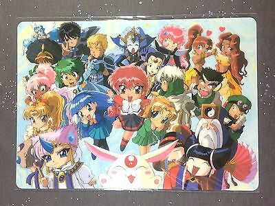 Magic Knight Rayearth Pencil Board Shitajiki Anime Eagle Lantis Clef Pencilboard