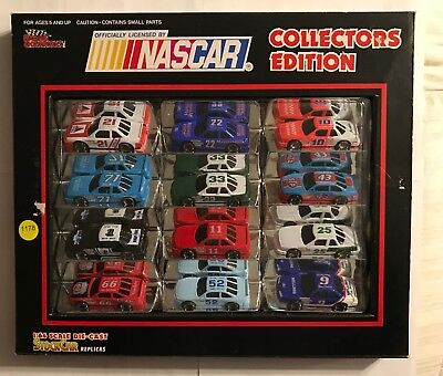 NASCAR COLLECTORS EDITION racing champs 1:64 scale die-cast