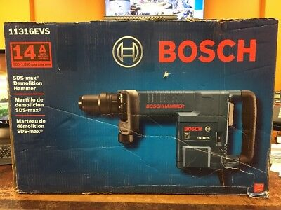 Bosch 11316EVS 14 Amp SDS-max Demolition Hammer Electric Free Shipping!
