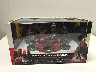 Dark Horse Comics HorrorClix Hellboy and the B.P.R.D. Action Pack
