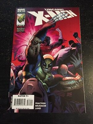 Uncanny X-men#502 Incredible Condition 9.4(2008) Land Cover!!